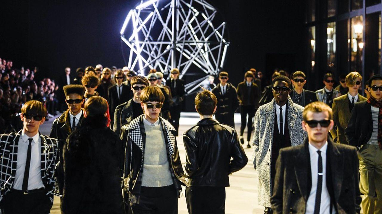 Fashion Week Homme Hiver 2019: Celine, l'effet Slimane