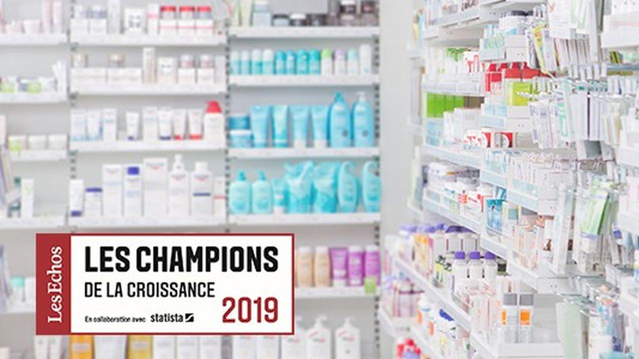 Les Champions de la croissance 2019 dans la pharmacie