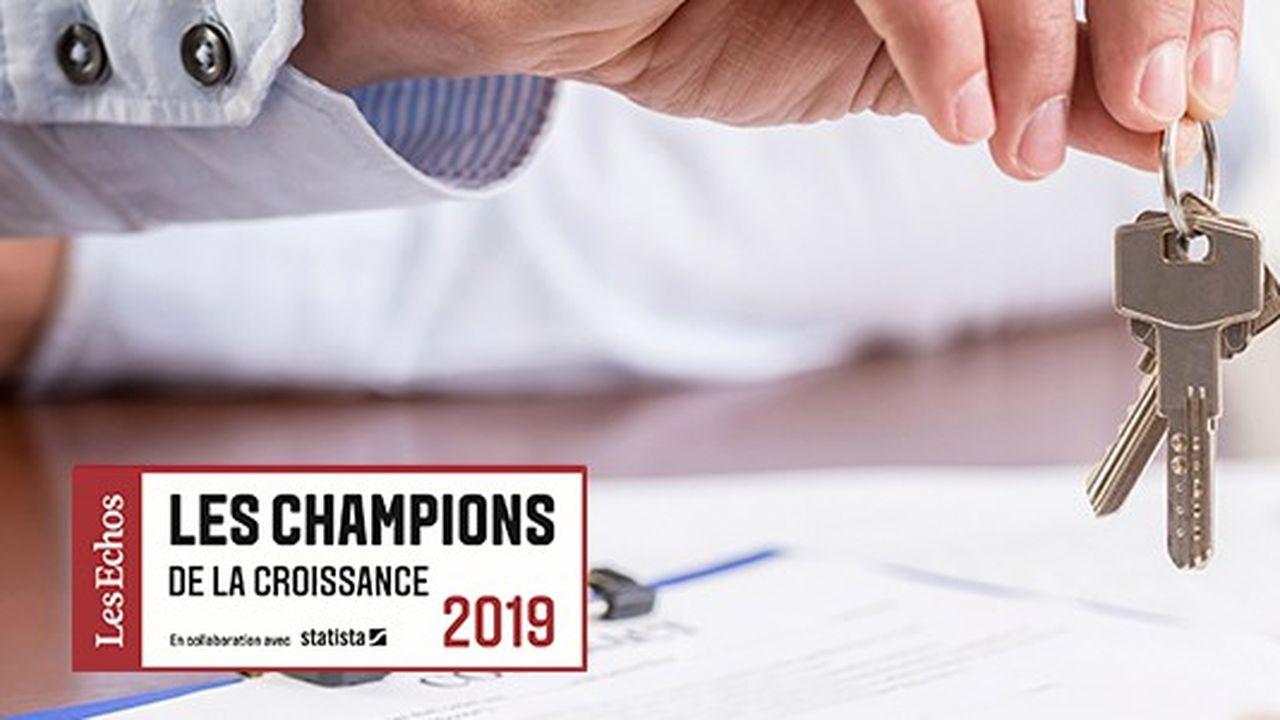 Les Champions de la croissance 2019 dans l'immobilier