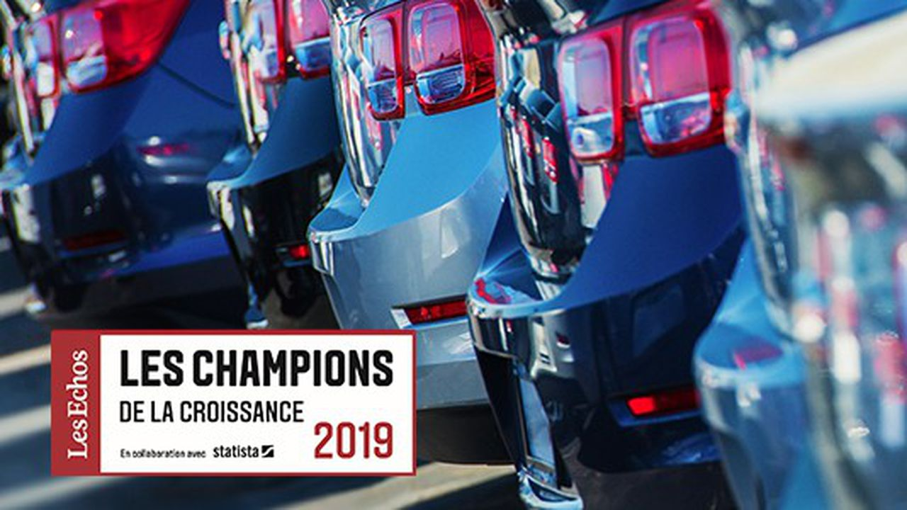 Les Champions de la croissance 2019 dans la distribution et réparation automobile