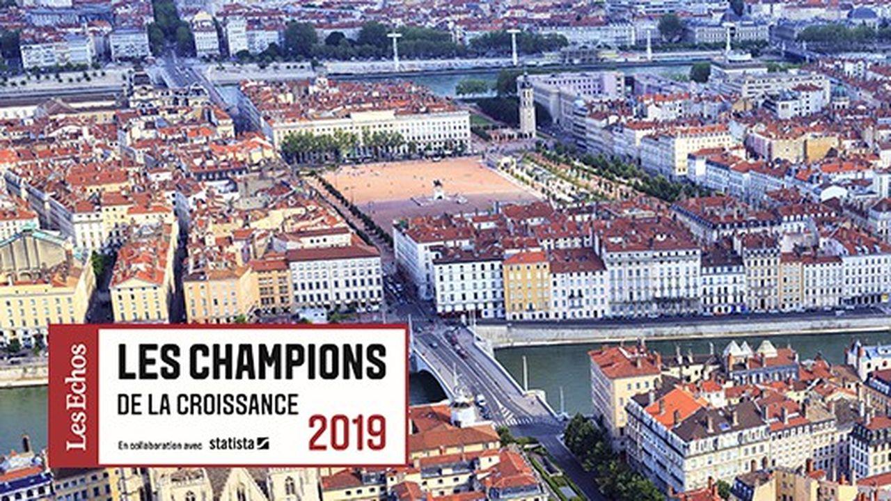 Les Champions de la croissance 2019 en Auvergne-Rhône-Alpes