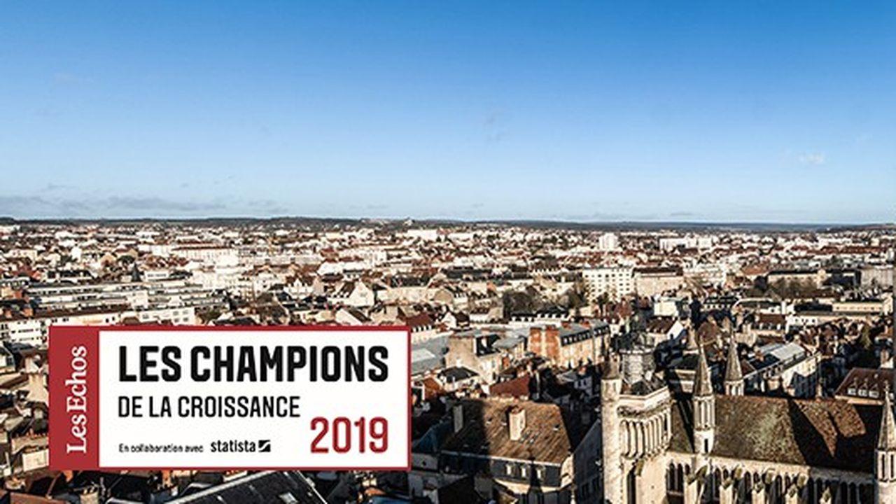 Les Champions de la croissance 2019 en Bourgogne-Franche-Comté