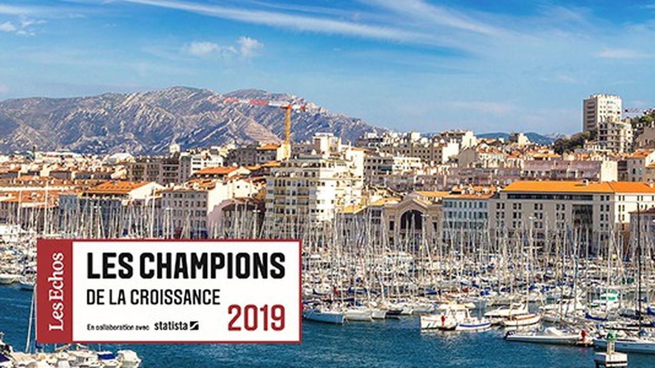 Les Champions de la Croissance 2019 en Provence-Alpes-Côte d'Azur