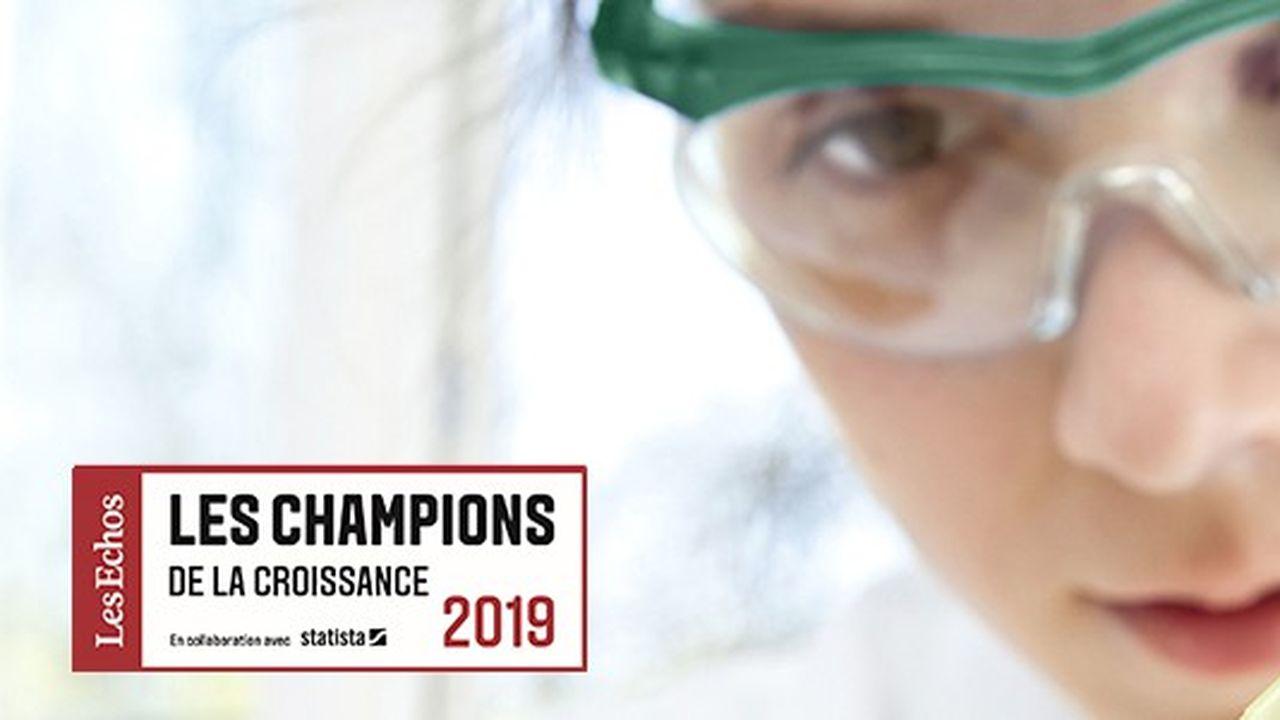 Les Champions de la croissance 2019 dans la chimie