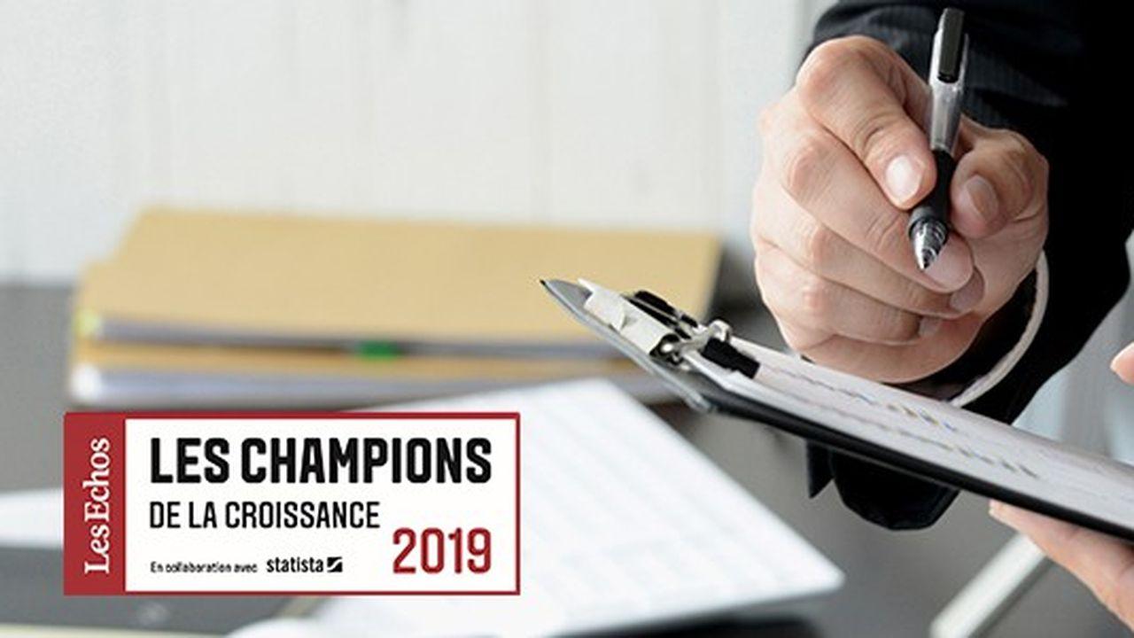 Les Champions de la croissance 2019 dans le conseil et le services aux entreprises