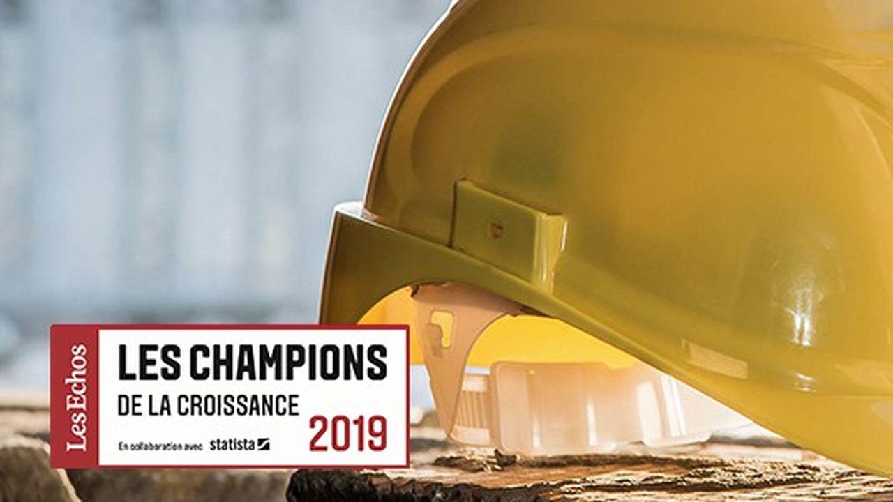 Les Champions de la croissance 2019 dans la construction et le bâtiment
