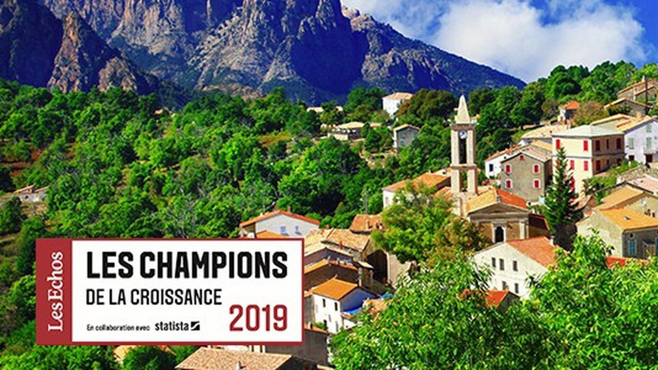 Les Champions de la croissance 2019 en Corse