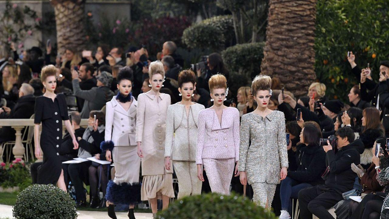Fashion Week Haute Couture Eté 2019 : Chanel ensoleille Paris