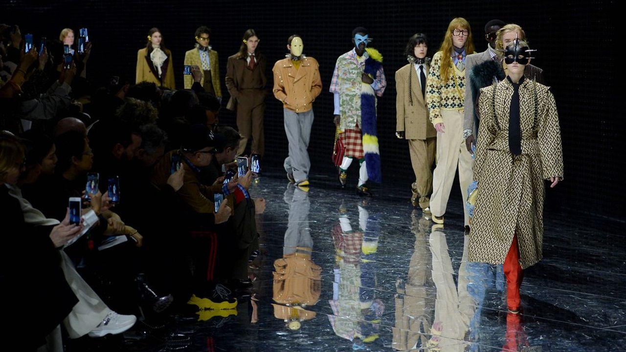 Fashion Week Automne-Hiver 2019 : la martingale de Gucci