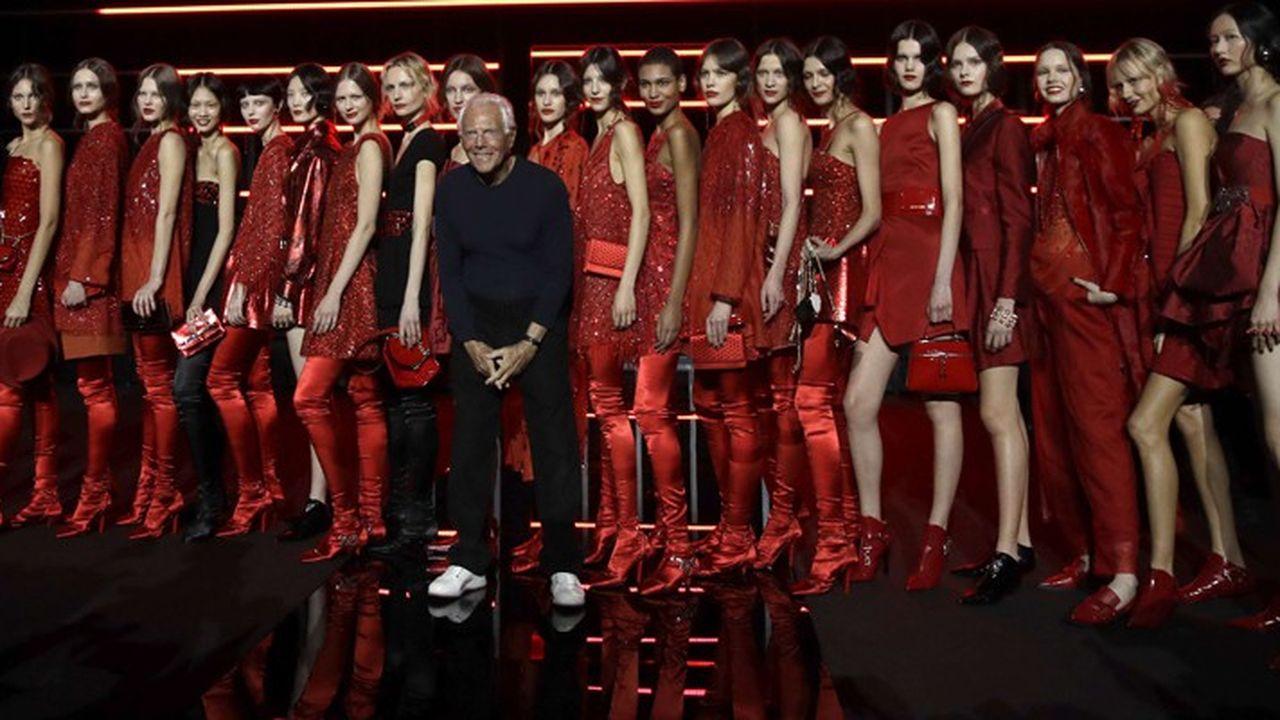 Fashion Week Automne-Hiver 2019 : l'élégance décontractée d'Emporio Armani