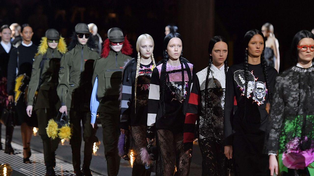 Fashion Week Automne-Hiver 2019: Les anti-héroïnes de Prada