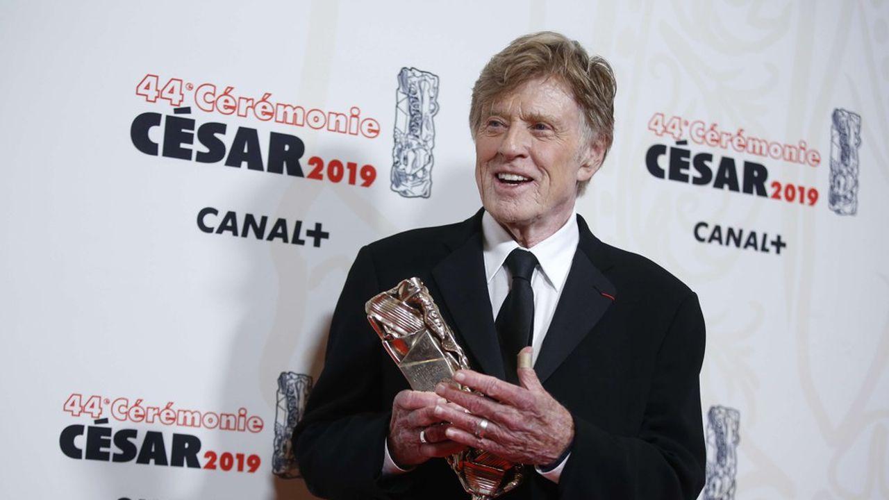 Robert Redford s'est vu décerner un César d'honneur pour l'ensemble de sa carrière.