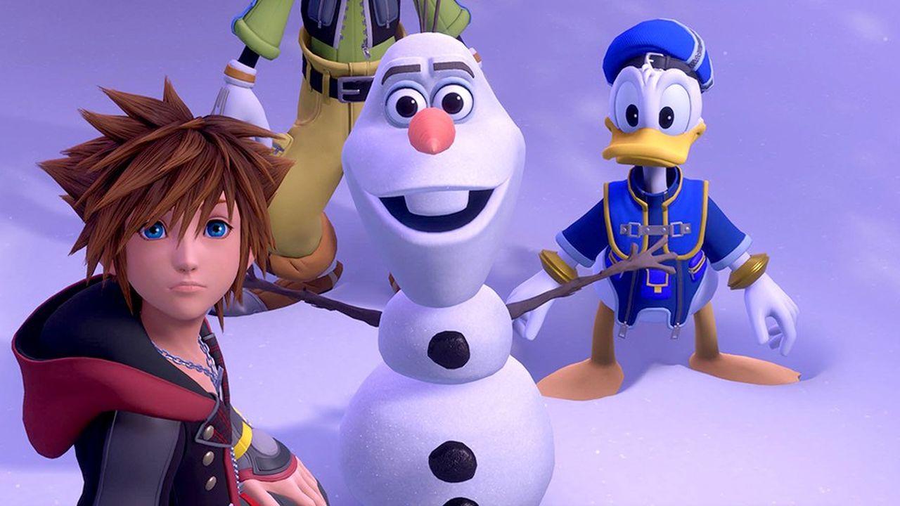 Kingdom Hearts est un mélange amusant des univers de Square Enix et de Disney-Pixar.