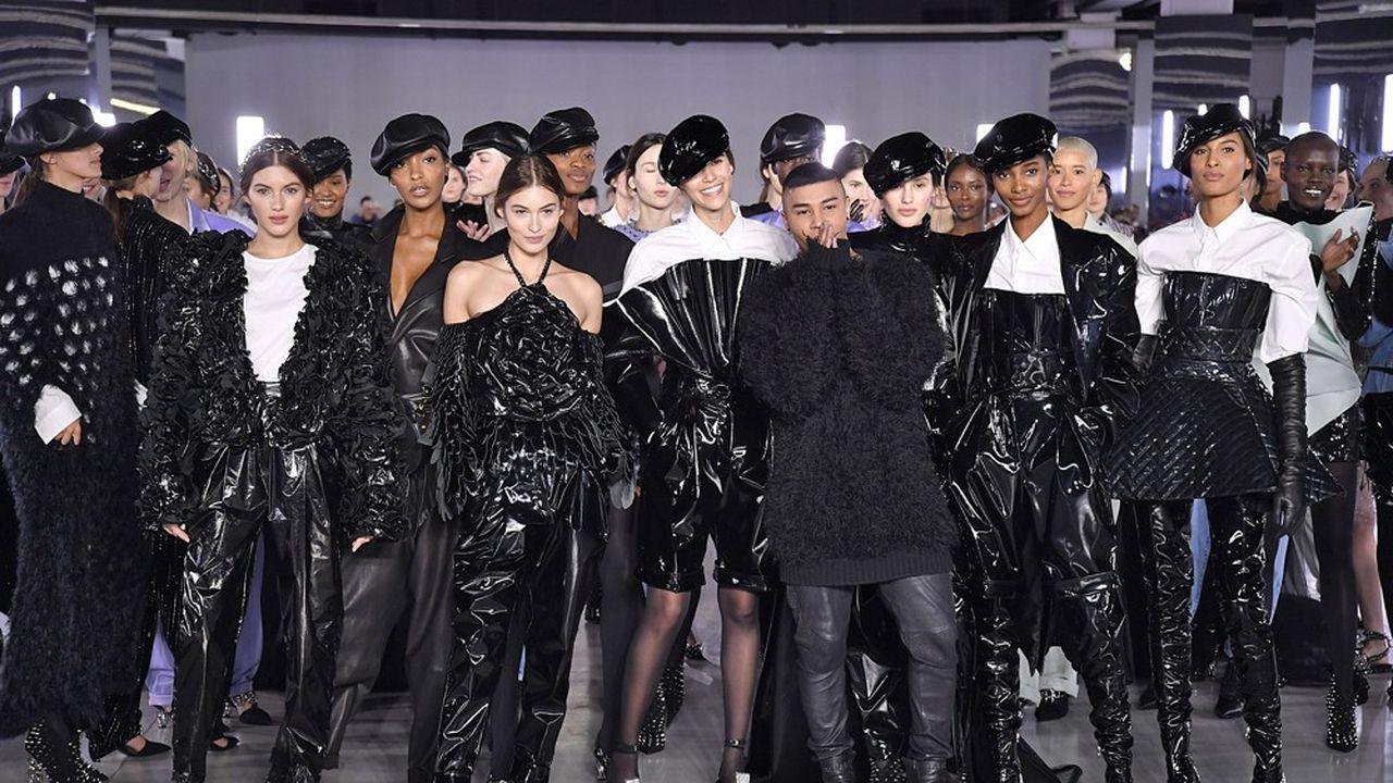Fashion Week Automne-Hiver 2019 : le glamour selon Balmain