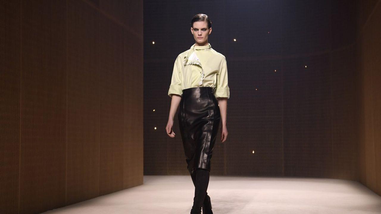 Fashion Week Automne-Hiver 2019 : le luxe moderne d'Hermès