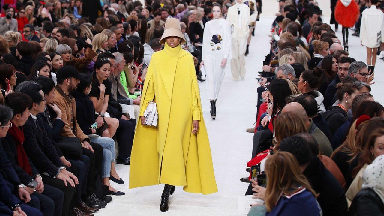 Fashion Week Automne-Hiver 2019: Valentino, la volonté contemporaine