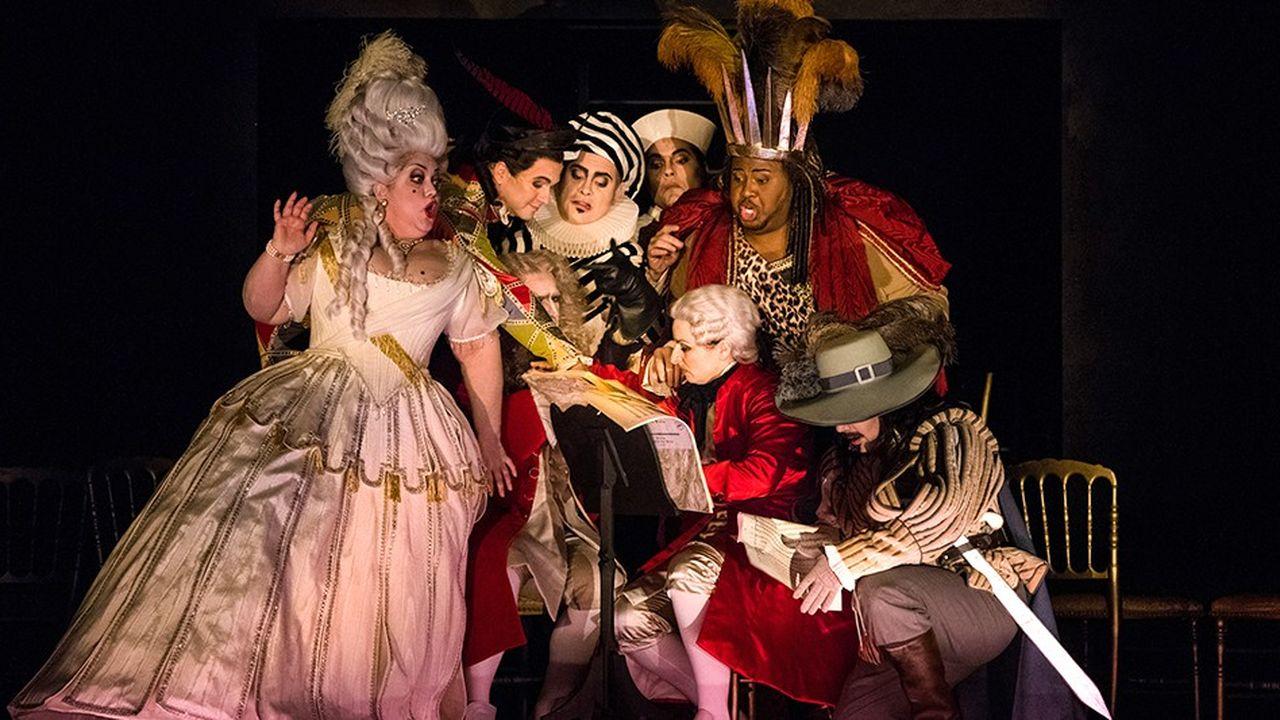 Parodie ou déclaration d'amour à l'univers de l'opéra, «Ariane à Naxos» joue sans cesse sur l'ambiguïté.