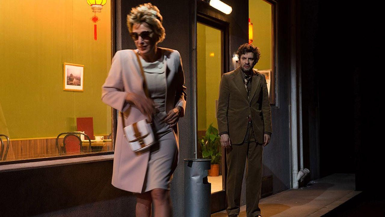 ValeriaBruni Tedeschi et Eric Caravaca s'affrontent lors d'un mariage tragique dans un restaurant chinois.