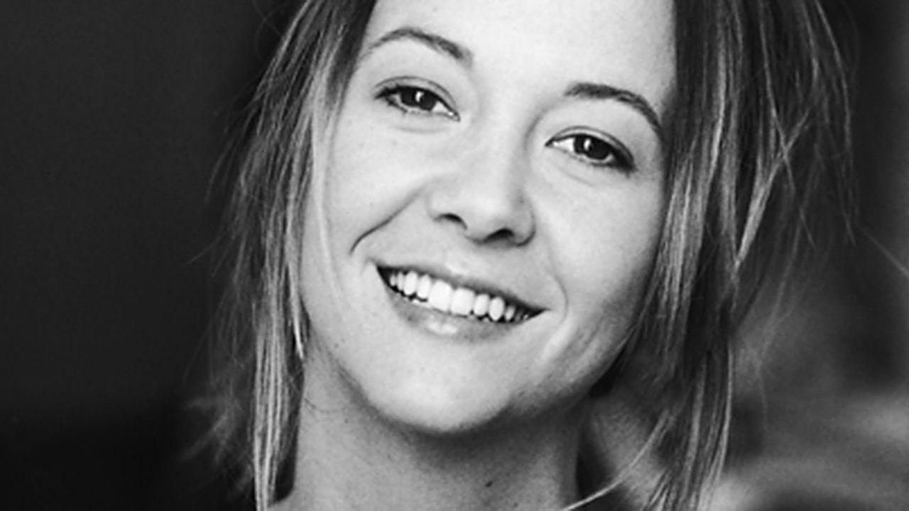 Carine Lacroix, première lauréate du prix Café Beaubourg.