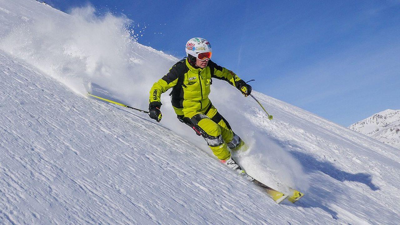 Skieur augmenté