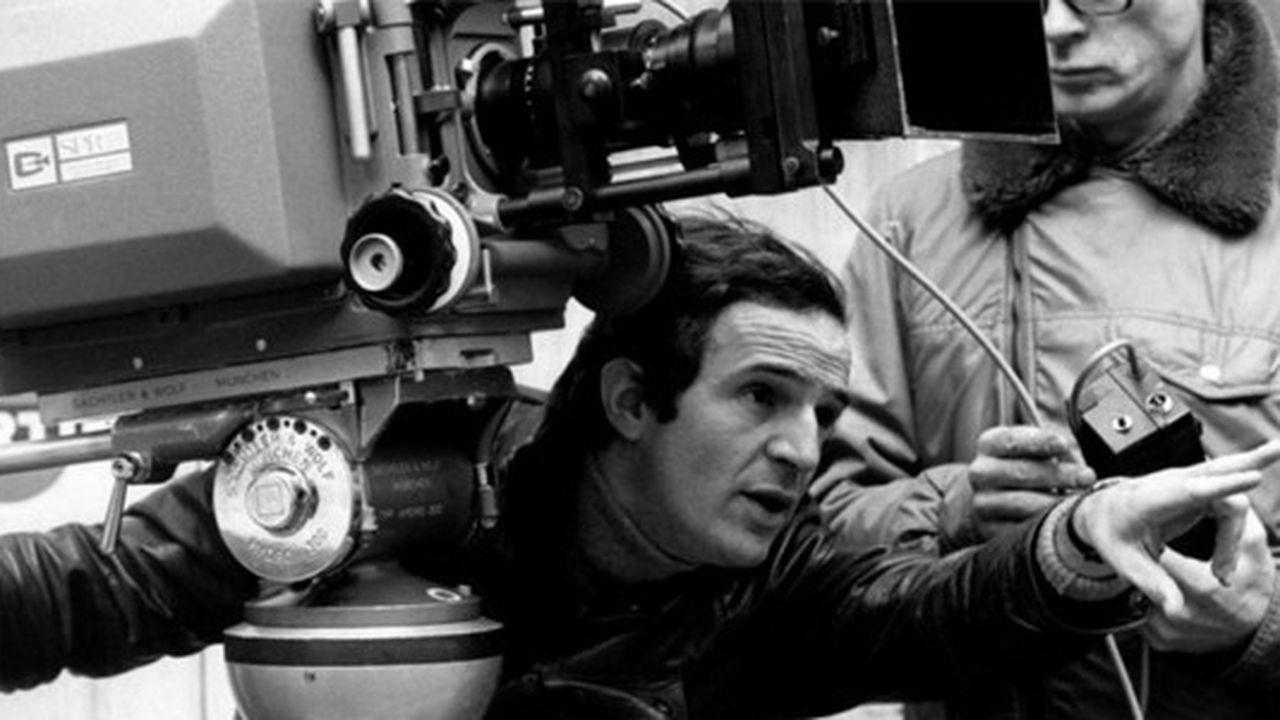 François Truffaut sur le tournage de son dixième long-métrage, « Domicile conjugal », sorti en 1970.