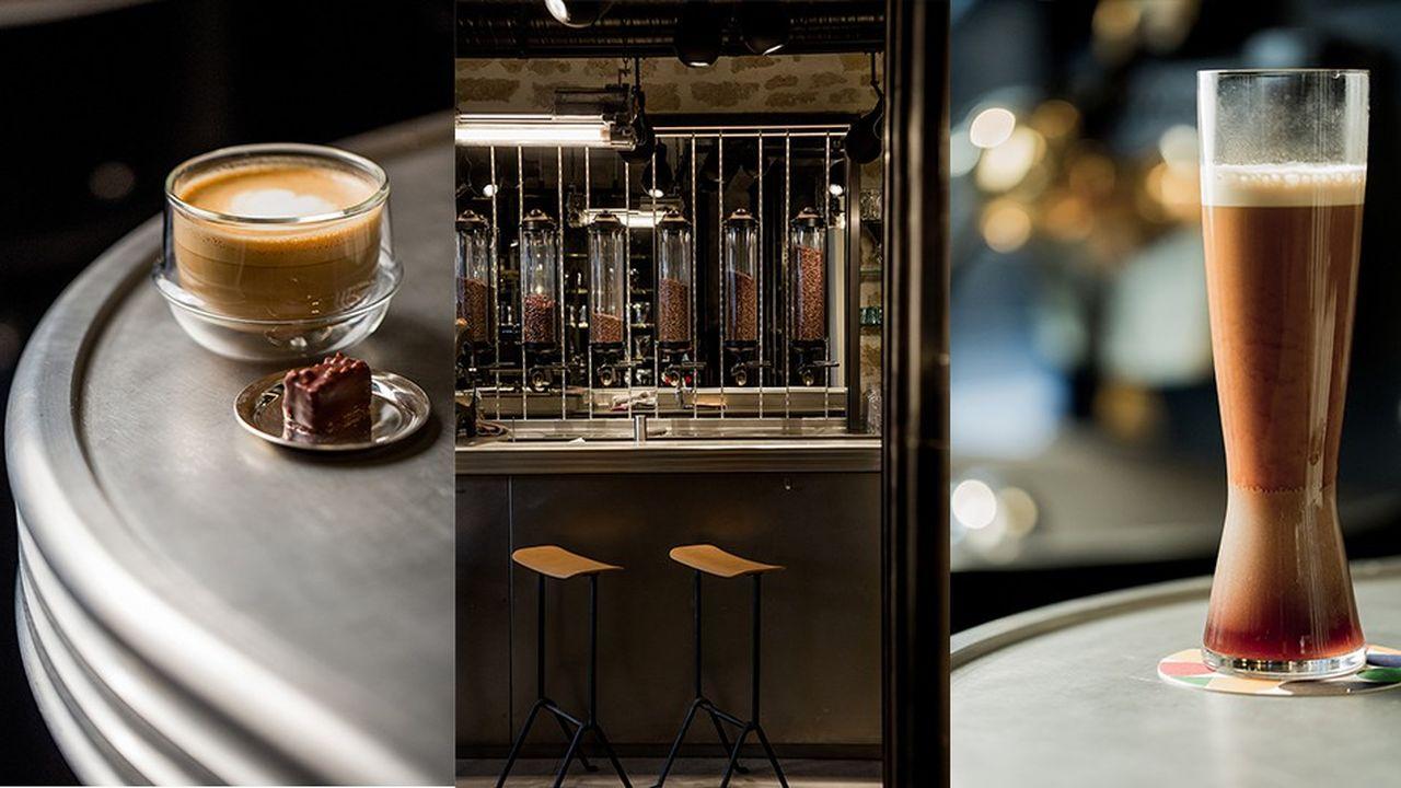 Le repaire: Le café Alain Ducasse, précision horlogère