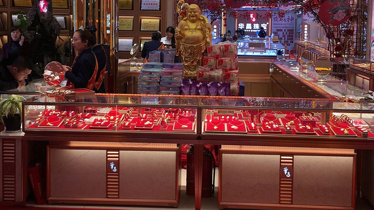 Putian, capitale de l'or chinois