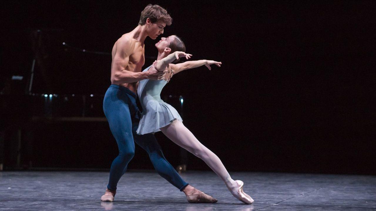 Hugo Marchand et Ludmila Pagliero dans «Trois Gnossiennes».