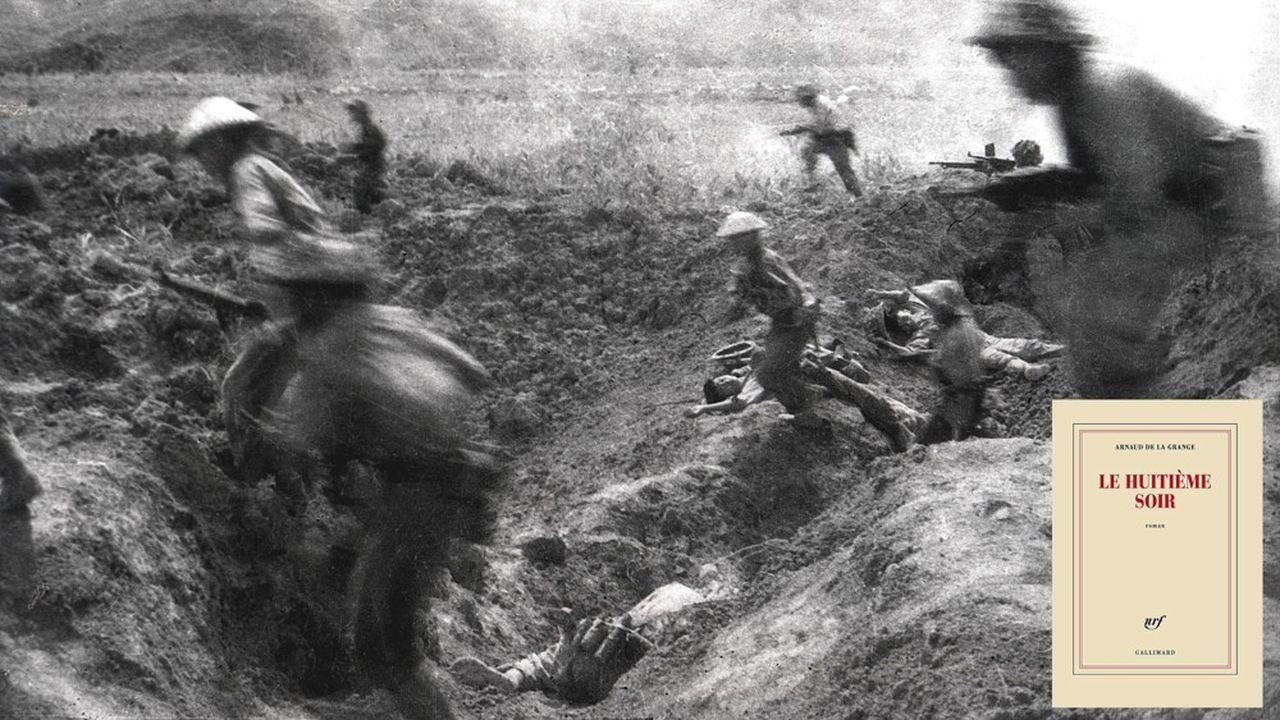 Bataille de Dien Bien Phu, le 14 avril 1954.