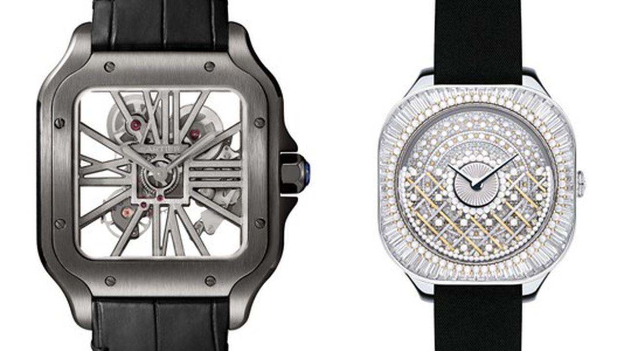 Heures Actuelles : montres carrées