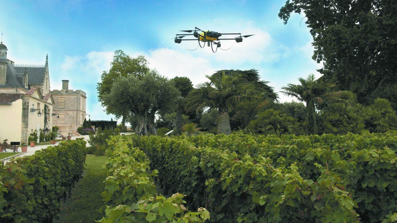 Le drone permet de réaliser la topographie par cartographie aérienne afin de définir avec exactitude les secteurs à problèmes.