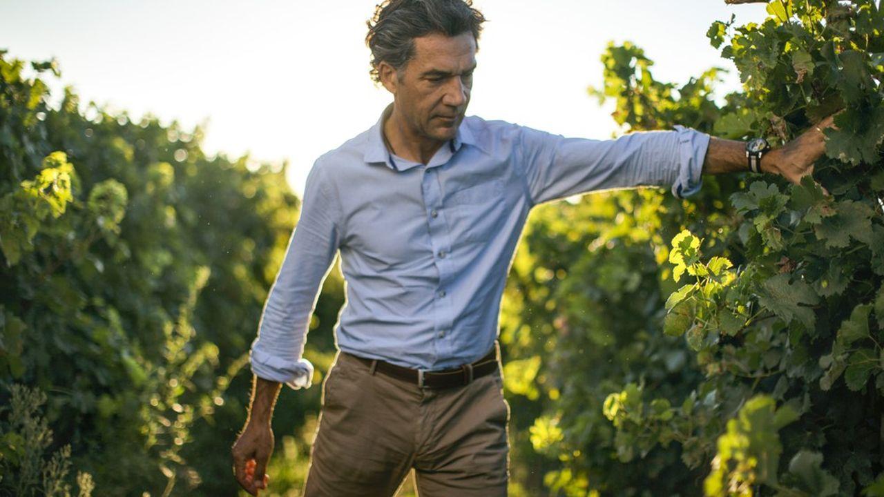 En ce moment, c'est dans l'irrigation maîtrisée et les cépages résistants que ce viticulteur exigeant préfère voir l'avenir des bonnes pratiques environnementales.