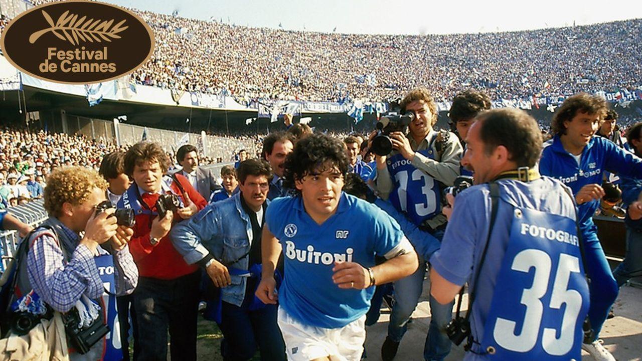 Maradona dépeint à hauteur d'homme, pour le meilleur et pour le pire.