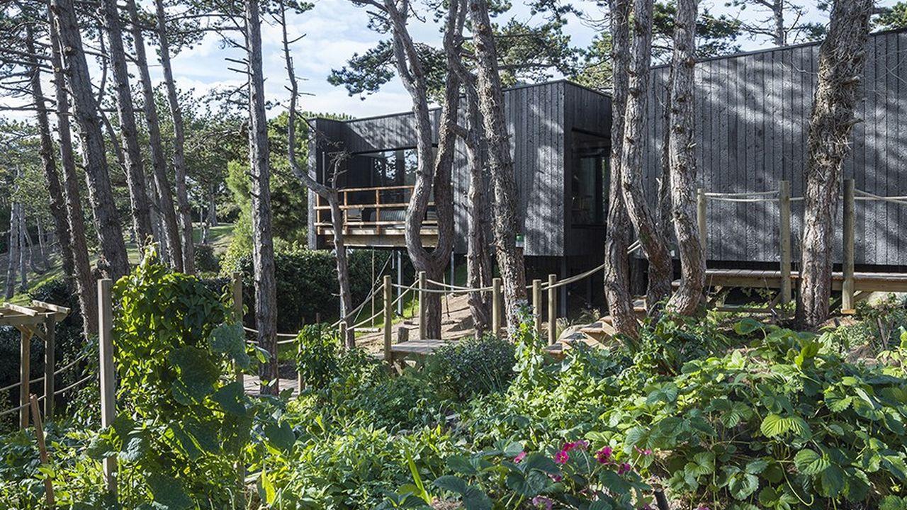 Le repaire: la cabane-potager de Jean Imbert