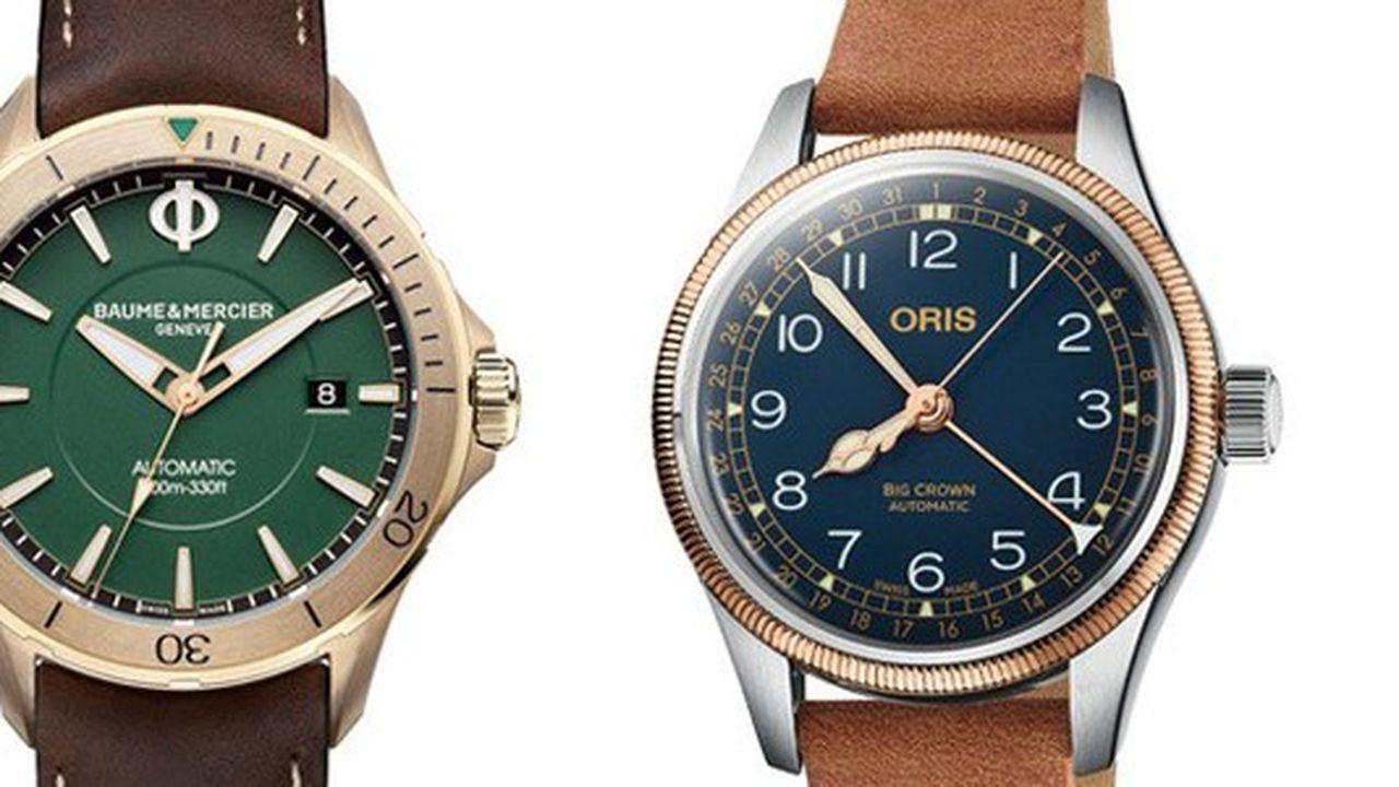 Heures Actuelles : montres en bronze