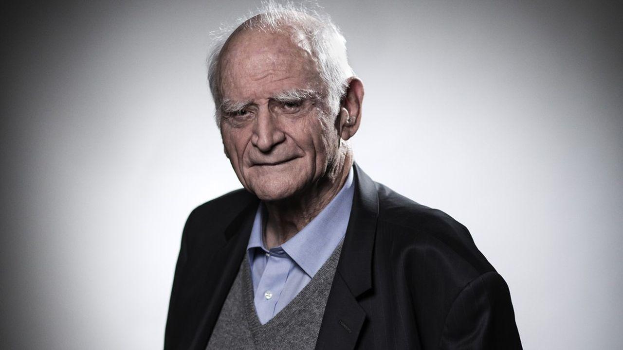 Michel Serres, en février2018.