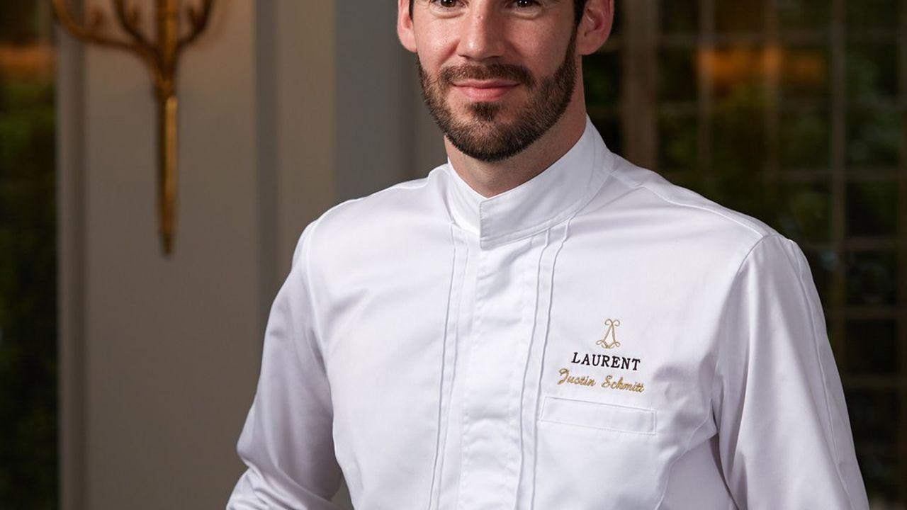 Le jeune chef du Laurent, Justin Schmitt