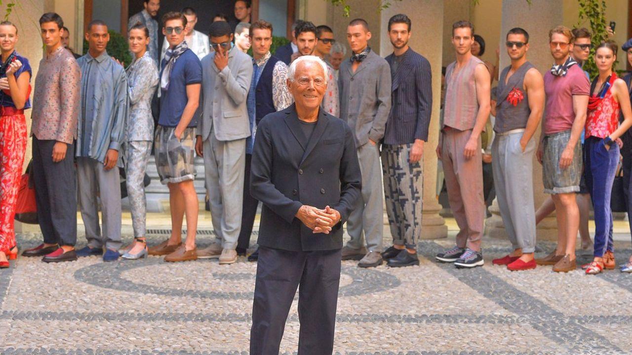 Fashion Week Printemps-Eté 2020 : le chic selon Giorgio Armani