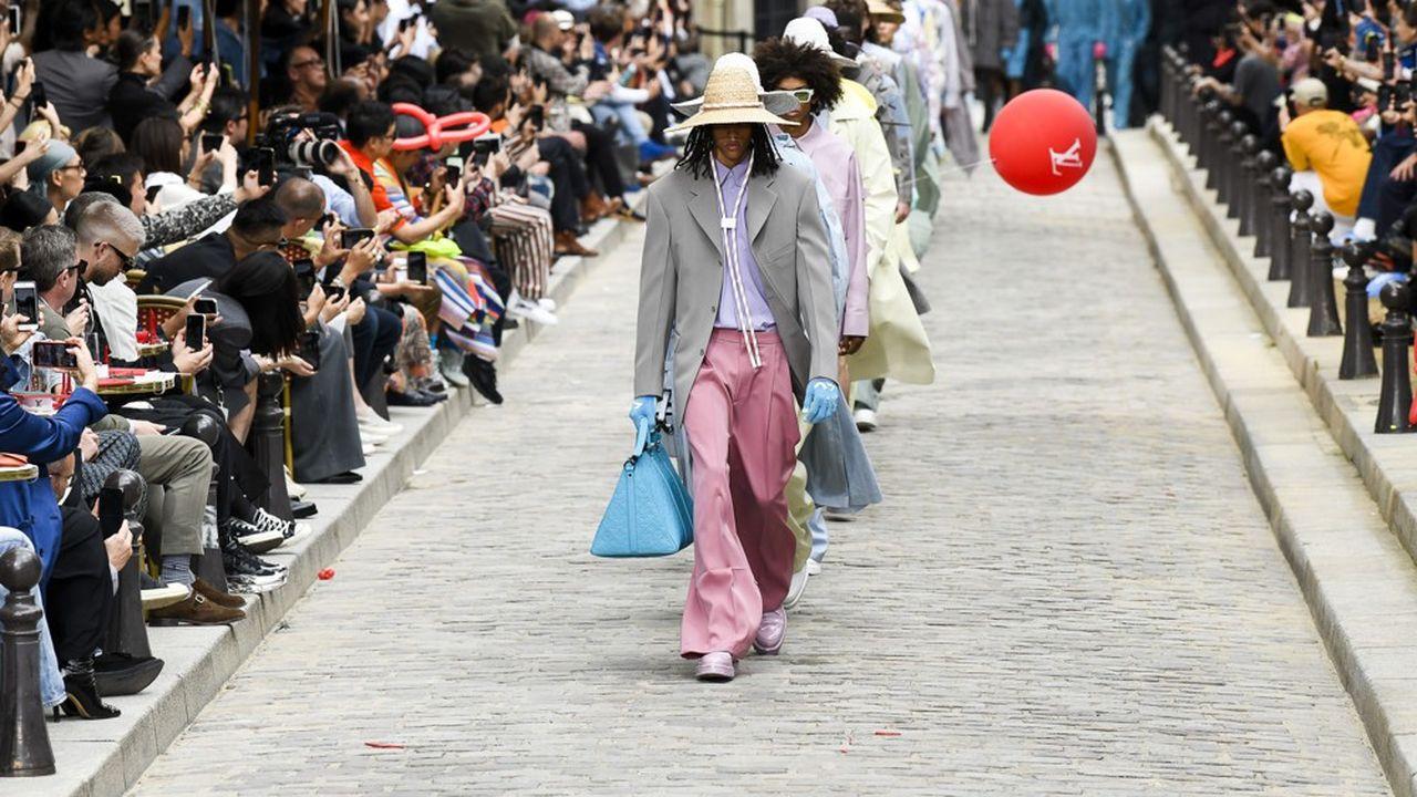Fashion Week Printemps-Eté 2020: Louis Vuitton, une nouvelle masculinité