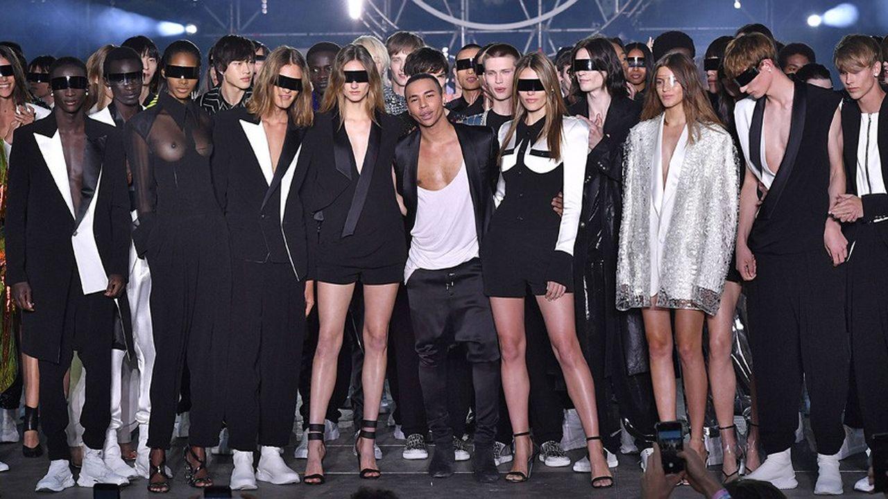 Fashion Week Printemps-Eté 2020: la mode pour tous de Balmain
