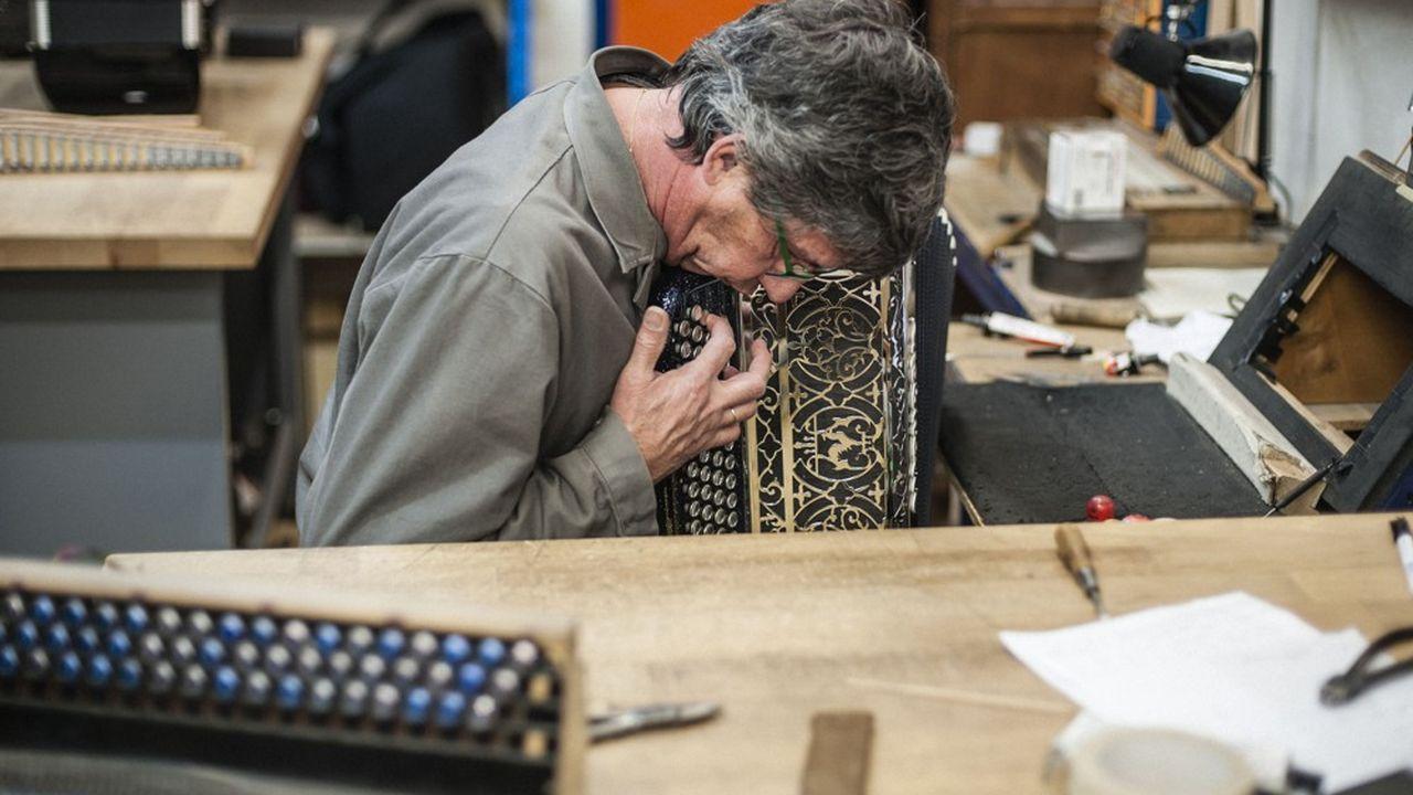 Les accordéons Maugein font de la résistance