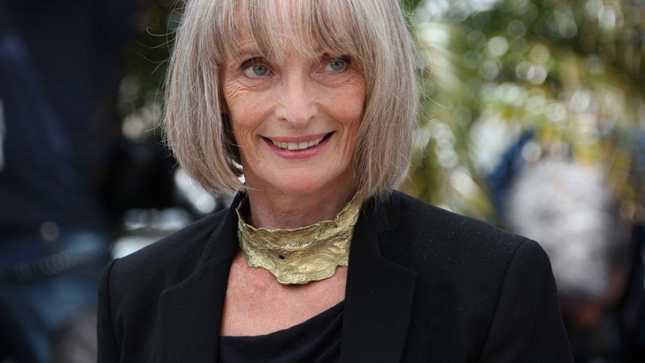 Edith Scob à Cannes en 2012 lors de la présenation du film de Leos Carax « Holy Motors ».