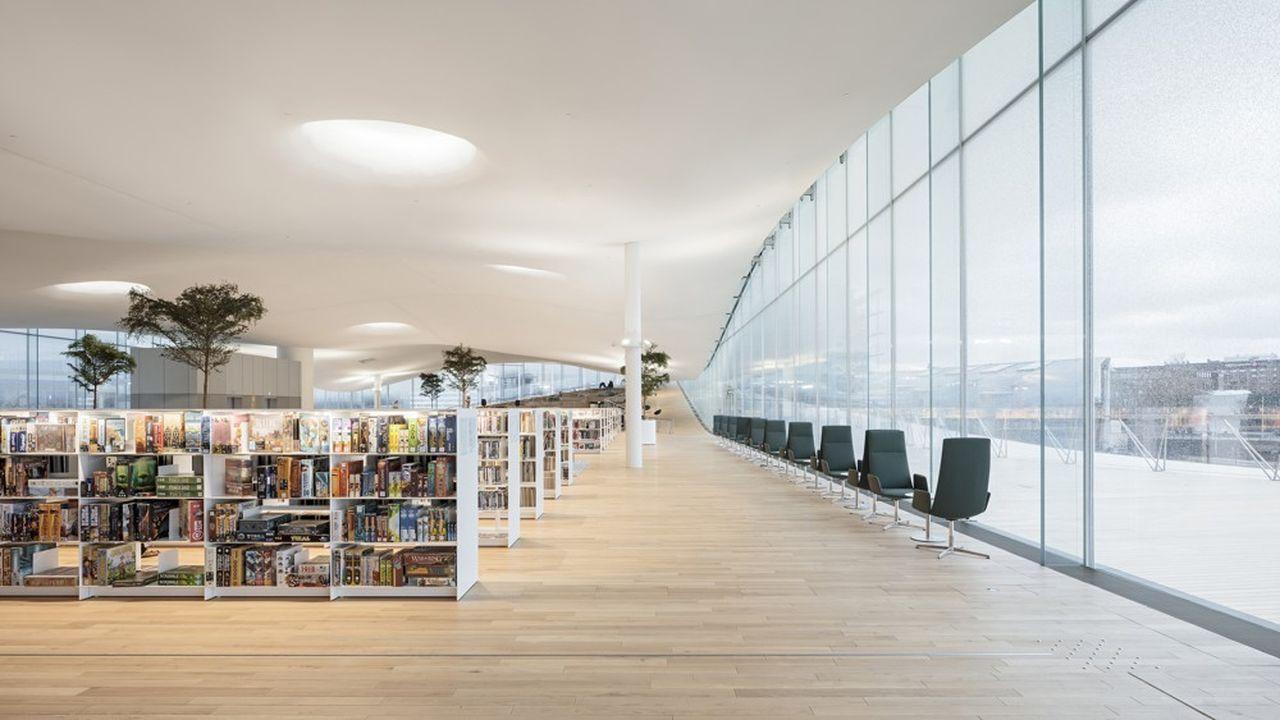 Voyage dans la bibliothèque du futur à Helsinki
