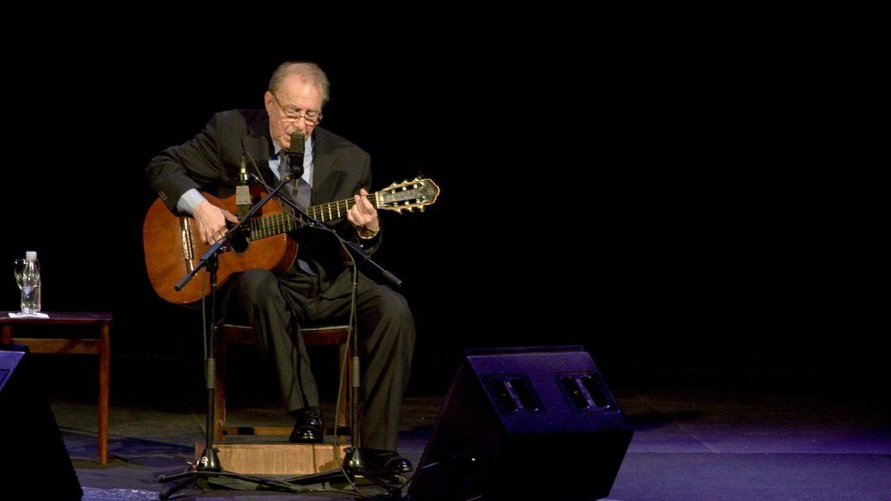 João Gilberto s'était produit sur scène pour la dernière fois en 2008.