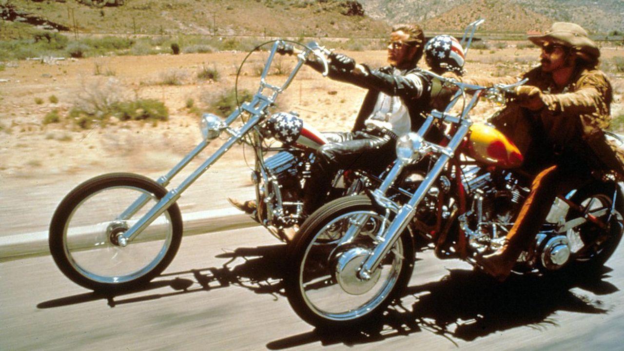 Sorti la même année que le festivalde Woodstock, le film «Easy Rider» rassemble tous les ingrédients de la décennie: liberté, drogues, musique…