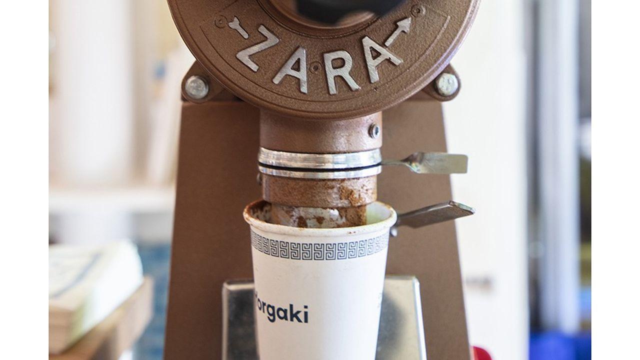 Le repaire: Yorgaki, néo-café grec de poche