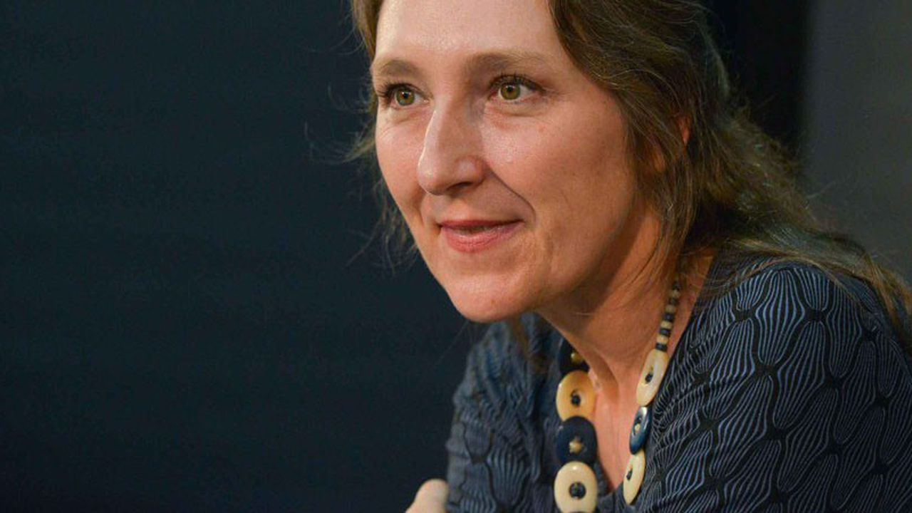 Marie Darrieussecq, l'auteure de « Truismes » (1996) et de « Bref séjour chez les vivants » (2001).