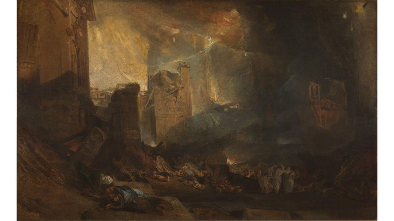 « La Destruction de Sodome » de Turner