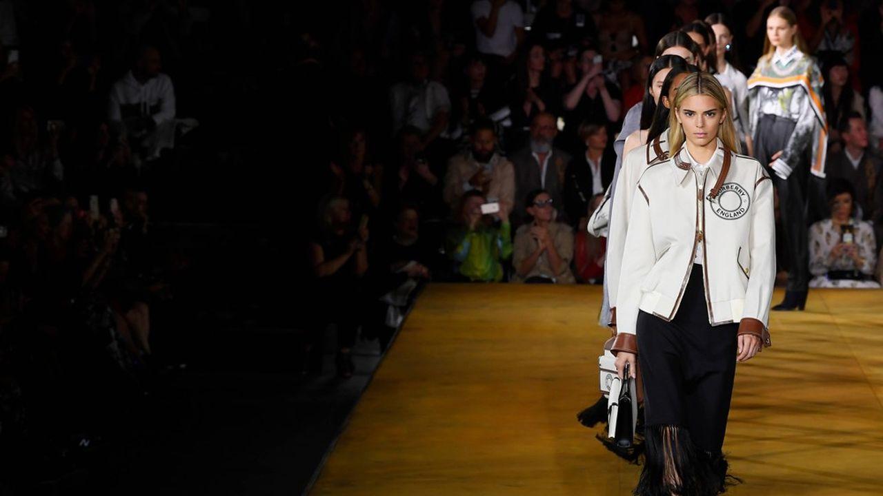 Fashion Week Printemps-Eté 2020 : le luxe contemporain de Burberry