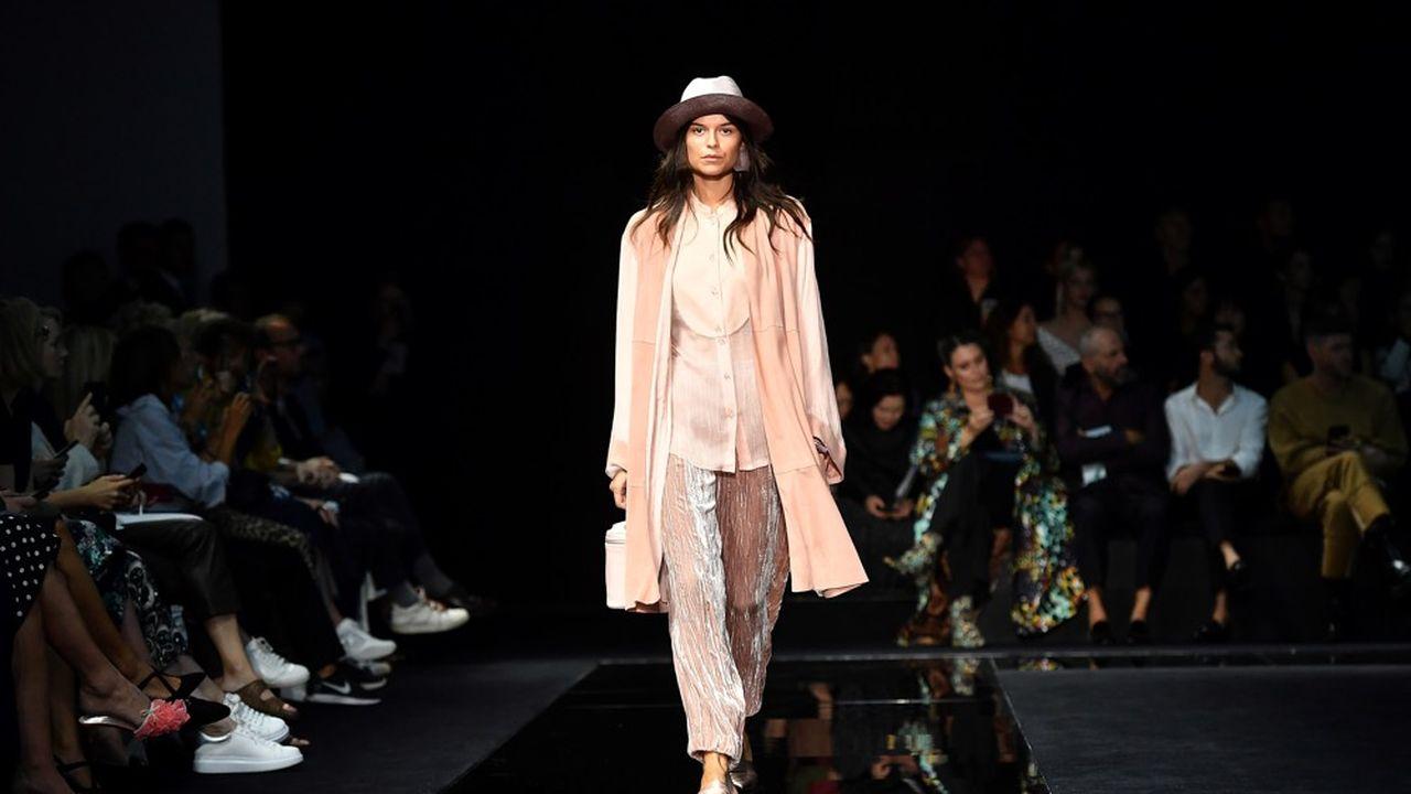 Fashion Week Printemps-Eté 2020: la fraîcheur d'Emporio Armani